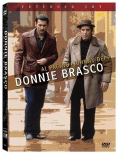 Donnie Brasco - with Johnny Depp, Al Pacino. A hugely underrated film. Al Pacino, Donnie Brasco, Top Movies, Great Movies, Movies And Tv Shows, Amazing Movies, Liam Neeson, Adam Sandler, Gabriella Wilde