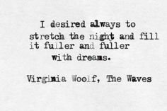 Virginia Woolf, The Waves (1931)
