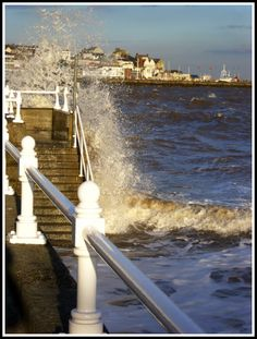 Dramatic seas at Bridlington  photo by Ange Graham  http://itsalittletravelguide.weebly.com/1/post/2011/12/just-like-jessie-j.html
