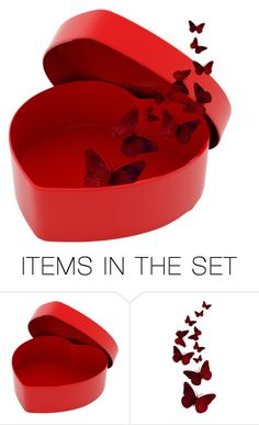 """""""Heart ❤️ Box Day 1"""" by hadleysummer ❤ liked on Polyvore featuring art"""