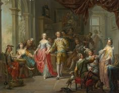 Franz Christoph Janneck | Baroque Era style | Tutt'Art@