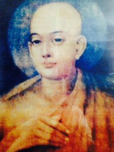 The only portrait done of Lord Chaitanya Mahaprabhu before he left Mayapur Dham... During his lifetime...
