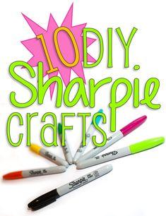 10 Fabulous DIY Sharpie Crafts