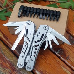 Cheap Outdoor Tools on Sale at Bargain Price, Buy Quality knife switch, needle piercing, needle and thread kits from China knife switch Suppliers at Aliexpress.com:1,Type:Pocket, Multi Tools 2,Brand Name:SPLITMAN 3,Function of quantity:22 functions 4,Name:multi folding knife pliers tool 5,type:EDC suvival Gear tools plier knife