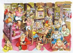 Sunda Lunch - WASGIJ! Jigsaw puzzles by Jumbo! 1000 Pieces! Finished size 26.8