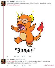 Alex Hirsch's Presidential Pokemon