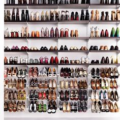 First Love Heels Closet - seriously omg.