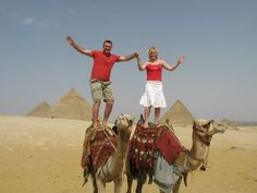 Camels in Egypt! Such great memories to be made *Expat Explore South Africa*