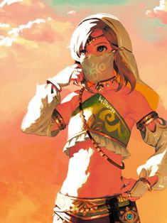bellhenge:  Gerudo Link(2) [Zelda: Breath of the Wild] The Legend Of Zelda, Legend Of Zelda Memes, Legend Of Zelda Breath, Ben Drowned, Gerudo Link, Anime Manga, Anime Art, Image Zelda, I Love You Pictures