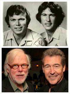 """Best friends 'then'; still best friends today!! <3 (Kevin Tighe & Randolph """"Randy"""" Mantooth)"""