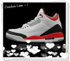 Authentic Air Jordan 3 Fire Red $192.00 http://sneakerusauthenticshoes.blogspot.com/