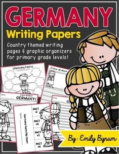 Germany Writing Pages