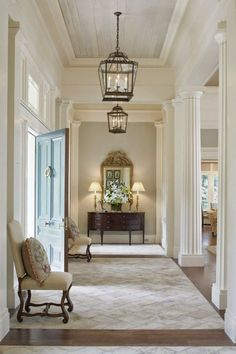 Entry hallway lighting ideas amazing traditional entry design ideas for the home foyer house and entryway Decor, House Styles, House Design, Interior Design, House Interior, Home, House, Entry Design, New Homes