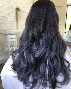 Silver Gunmetal Hair Color