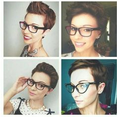A throwback Thursday when Emma Gustavson had a pixie. Pick 1 , 2 , 3 or 4 as the style you like best. @thelittleeblog