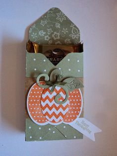 Card Corner by Candee: Envelope Punch Board Treat Holder