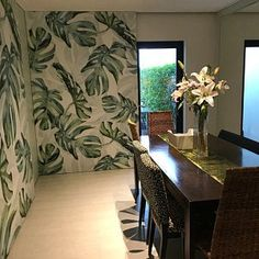 Watercolor Hand Painted Fresh Leaves Wallpaper Wall Mural, Hanging Leaves Wall Mural, Watercolor Leaf Wall Mural for Bedroom Living Room Grey Floral Wallpaper, Green Leaf Wallpaper, Flowers Wallpaper, Bird Wallpaper, Painting Wallpaper, Leaves Wallpaper, Grey Victorian Wallpaper, Wallpaper Murals, Tree Wallpaper For Walls