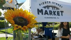 Pierce Street Market featuring locally made goods and fresh finds. Discover something new at this twice-per-month market in downtown Clearwater! Stuff To Do, Things To Do, Clearwater Beach, Beach Bars, Something New, Fresh, Table Decorations, Street, Travel