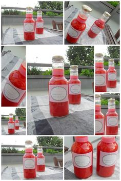 Strawberry liqueur for the summer Party Drinks Alcohol, Party Food And Drinks, Fun Drinks, Alcoholic Drinks, Cocktails, Homemade Strawberry Lemonade, Strawberry Summer, Summer Drink Recipes, Toast