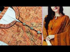 Chudidhar Neck Designs, Tunic Designs, Dress Neck Designs, Sleeve Designs, Collar Kurti, Simple Kurti Designs, Churidar Designs, Stitching Dresses, Kurta Neck Design