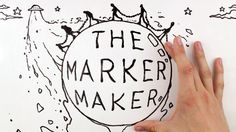 The Marker Maker is a fun stop motion whiteboard animation. Music and Animation created by Jonny Lawrence. Voice by Eckhart Tolle. All of the Eckhart Tolle r...
