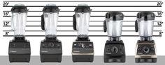 Vitamix machines lineup--best blog on comparing Vitamix options