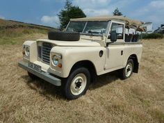Land Rover 88 Serie II soft top canvas.