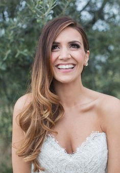 Embellished Bridal Hairstyle for Long Hair