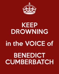 pretty much sums it up.....I love Cabin Pressure for the whole cast, but Benedict is perfect in this.