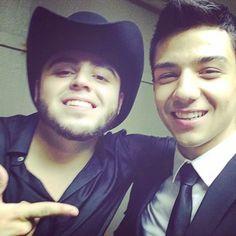 Gerardo Ortiz y Luis Coronel