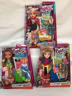 "Bratz Study Abroad CLOE China JADE Russia YASMIN Brazil 10"" Dolls & Accessories | eBay"