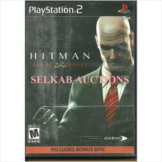 Hitman: Blood Money + Kane & Lynch Play Station 2 Video Game disc PS2 NTSC Used 788687500449 on eBid Canada