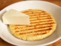 Colombian-Style Arepas (Griddled or Grilled Corn Cakes) I've seen the masarepa flour in the store before and wondered how to use it.. Now I might have to try! This sounds like it would be perfect with black bean soup or even as a snack or light lunch.