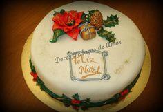 Doces Pedaços de Amor: Bolo de Natal