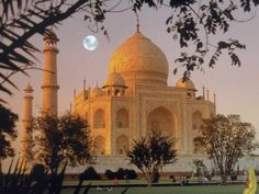 Taj Mahal, Agra, India Lámina fotográfica