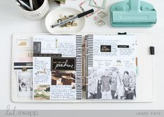 5 Ways To Add Photos to Your Memory Planner   @jamiepate for @heidiswapp