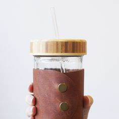 New in the shop! MBC Bamboo + Glass Straw + Jar in one set! 😊 #MBCgoods #MBCbamboo