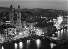 Grossmünster, 1930 Paris Skyline, New York Skyline, Present Day, Interior And Exterior, 19th Century, History, City, Building, Places