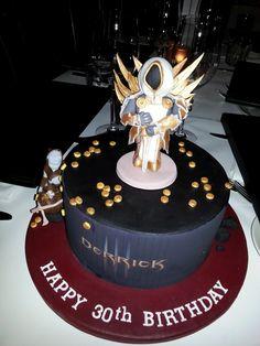 My friend's Diablo 3 birthday cake - Imgur