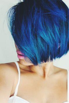 20 Blue Short Hair Ideas