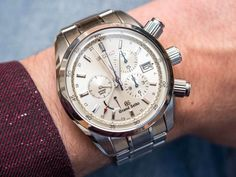 After countless hours of research and diving deep into the black holes of Google our Senior Editor David Bredan wrote up an amazing Extensive Review of his personal Grand Seiko Spring Drive Chronograph SBGC001 that you don't want to miss... Read about it here:http://www.ablogtowatch.com/grand-seiko-spring-drive-chronograph-sbgc001-watch-review/