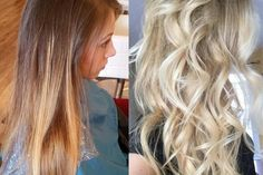Kayla Le, a senior stylist from Excellent Hair Salon & Spa Inc.(@excellenthairsalon)of Fremont, California, saw her client Alma for the first time. Together, artist and client decided to go for a silvery blonde with a light brown base and a haircut with layers.