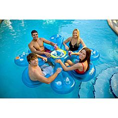 So cool! @Overstock - Take the plunge and then take a seat and a drink with this inflatable pool bar  Water sports accessory is perfect for sitting with friends for refreshments  Pool toy inflates quickly with an electric pump (not included)http://www.overstock.com/Sports-Toys/Ahh-Qua-Floating-Bar-with-4-Sun-Seats/3587159/product.html?CID=214117 CLP              27840.00
