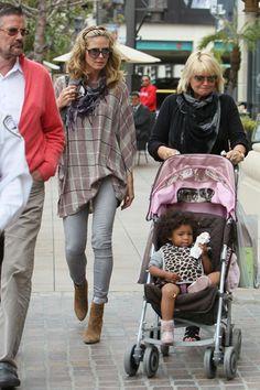 Heidi Klum and family hit the Grove