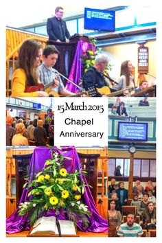Chapel Anniversary 2015 with Rev Mark Dunn-Wilson of Truro.