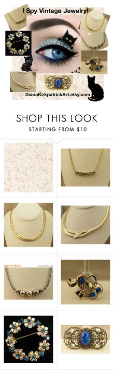 I Spy Vintage Jewelry by diana-32 on Polyvore featuring Sarah Coventry and vintage