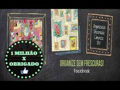 1 MILHÃO DE SEGUIDORES NO FACEBOOK : OBRIGADOOO!! | Organize sem Frescuras!