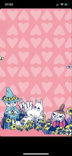 Wallpaper Iphone Disney, Iphone Background Wallpaper, Little My Moomin, Moomin Wallpaper, Moomin Valley, Tove Jansson, Cute Wallpapers, Troll, Drake