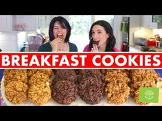 Savor the sweet taste of pumpkin pie, carrot cake, and indulgent chocolaty goodness…for breakfast! These healthy, gluten free breakfast cookies are bursting with rich, comforting flavors and a satisfyingly chewy texture. Plus, between the slow-digesting carbs from the oats and the protein-packed peanut butter, these...