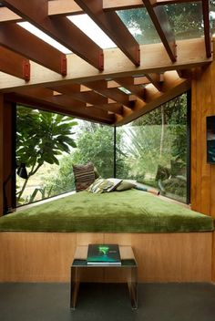 landscape architecture - Inspirational Ideas for Cozy Window Seat jihanshanum Home Interior Design, Interior Architecture, Interior And Exterior, Modern Interior, Room Interior, Interior Ideas, Interior Garden, Computer Architecture, Architecture Magazines